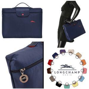 LIKE NEW!  Longchamp le Pilagé Document tote